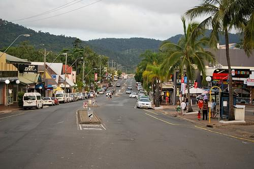 Airlie Beach Main Street
