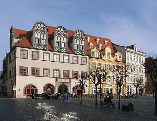 Bürgerhäuser 1 (Markt Naumburg)