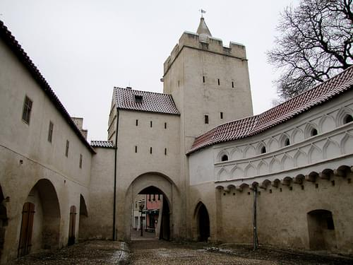 City Walls and Marientor Gate, Naumburg