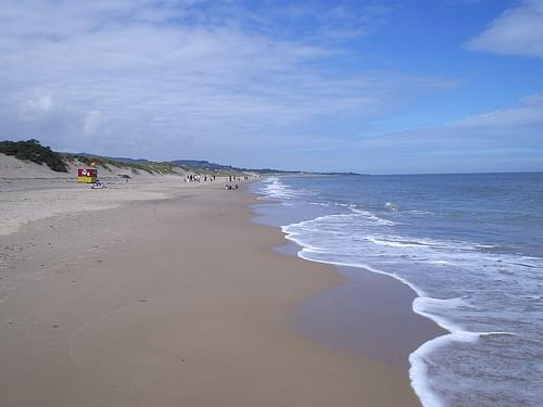 Brittas Bay, Co. Wicklow, looking North