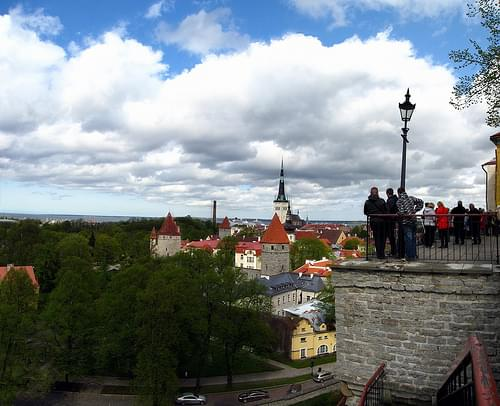 View from Patkuli Belvedere, Tallinn