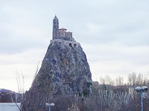 Le Puy-en-Velay  (Haute-Loire), chapelle St-Michel d'Aiguilhe (1)