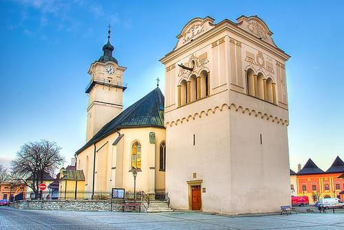 Church of St. George, Poprad