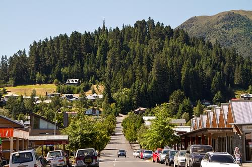 New Zealand - Hanmer Springs - Hill