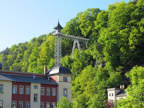 Sächsische Schweiz - Bad Schandau - Personenaufzug