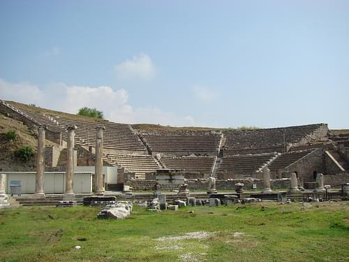 Pergamon Asklepion, theater