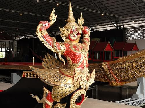 National Museum of Royal Barges in Bangkok, Thailand