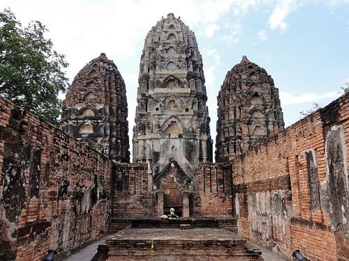 Wat Si Sawai at Sukhothai Historical Park, Thailand