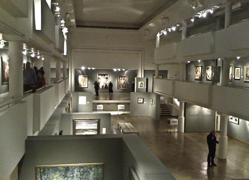 Paul Delvaux in Museum D'Ixelles