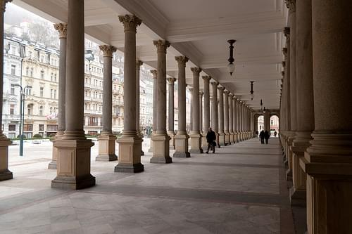 Mlýnská kolonáda (Mill Colonnade), Karlovy Vary, Czech Republic