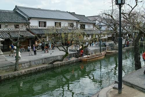 Townscape of Kurashiki (Kurashiki, Okayama, Japan)