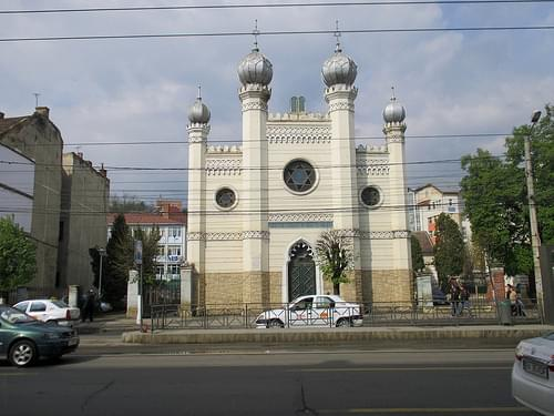 Cluj-Napoca - Neolog Synagogue on Horea street