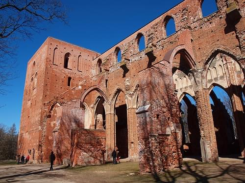 Ruins of Tartu Cathedral