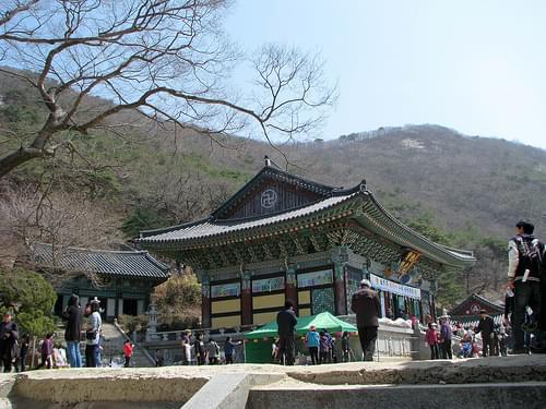 Bomunsa Temple, Seokmodo Island