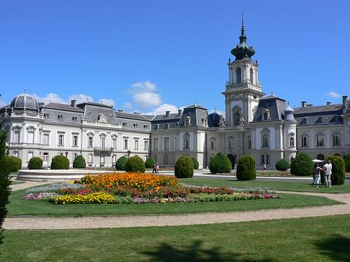 Festetics palace at Keszthely, Hungary