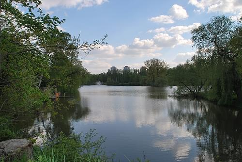 Valley of Three Ponds, Katowice