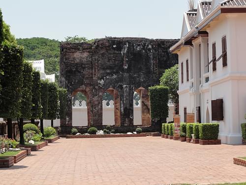 Phra Narai Rachanivej(King Narai's Palace) in Lopburi, Thailand