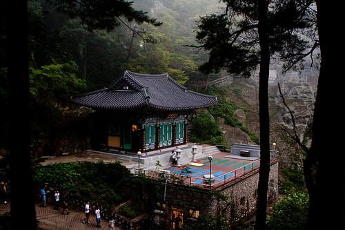 Golgulsa Temple (골굴사), South Korea