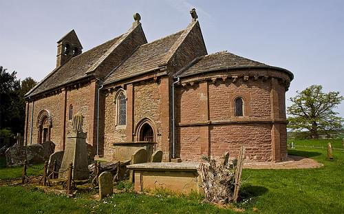 Kilpeck Church - Herefordshire