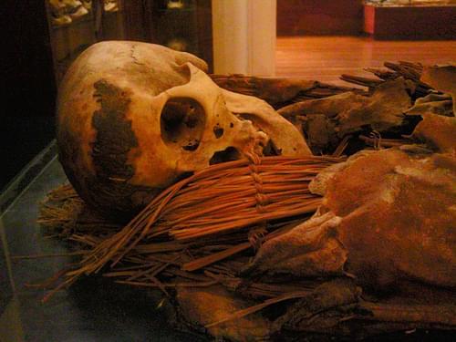 Mummy at Gran Canaria museum in Las Palmas #grancanariahol