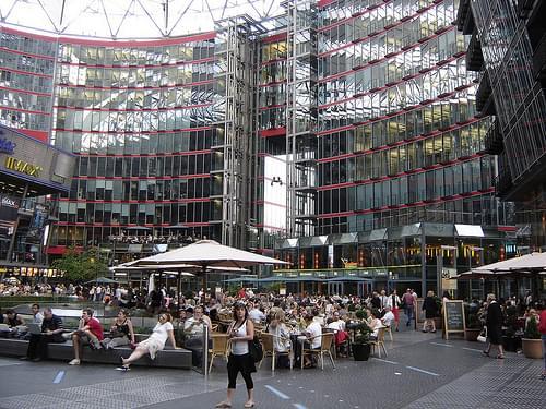 Berlin: Sony Center Potsdamer Platz