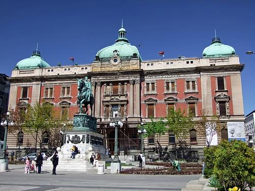 The National Museum of Serbia