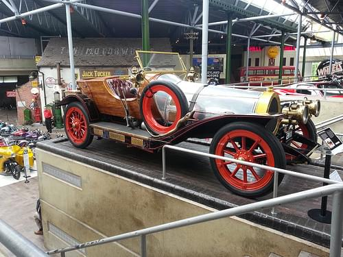 Chitty Chitty Bang Bang,  National Motor Museum, Beaulieu