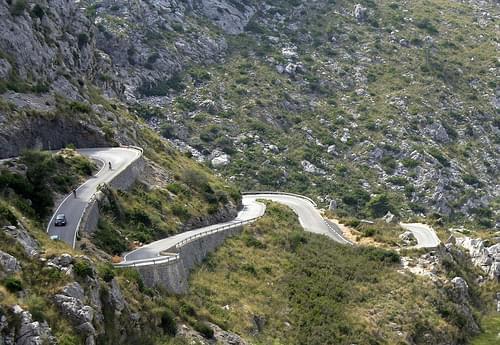 Carretera de Sa Calobra, Mallorca
