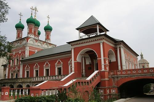 Москва (Moscow) - Высоко-Петровский монастырь (Vysokopetrovsky Monastery)