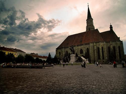 St Michael Church, Cluj city