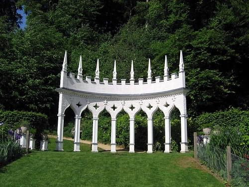 Painswick Rococo Garden, Glos.