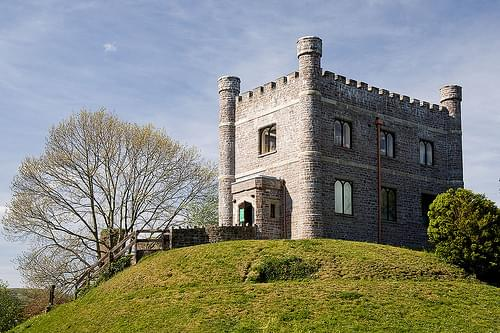 Abergavenny Castle - Monmouthshire.