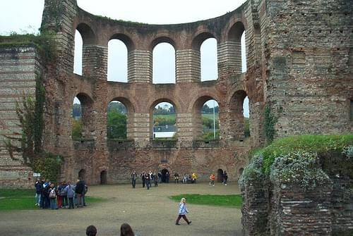 Kaiserthermen Roman Baths, Trier
