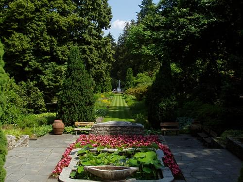 Botanical gardens of Villa Taranto