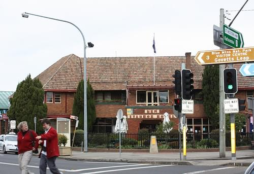 New Ivanhoe Hotel, Blackheath, NSW.