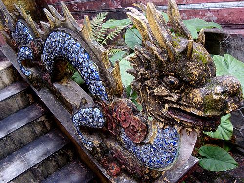 Dragon Balustrade, Chùa Hàng Kenh, Hải Phòng