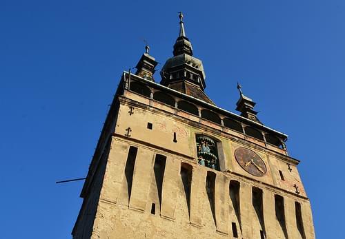 Clock tower, Sighisoara, 14th - 16th centuries (4)
