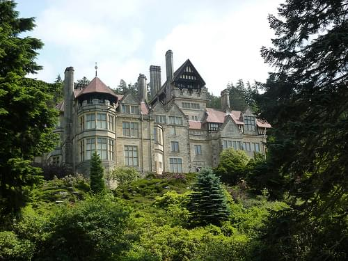 Cragside and its sumptious gardens