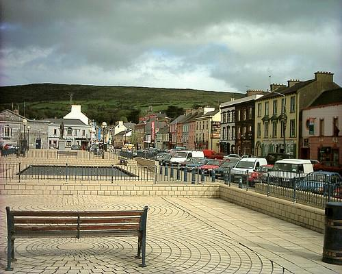 The main square in Bantry.