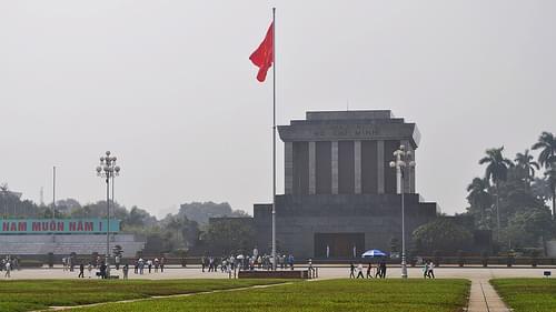 Ho Chi Minh's Mausoleum, Ba Dinh Square, Hanoi