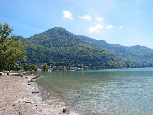 Albigny Beach @ Lake Annecy