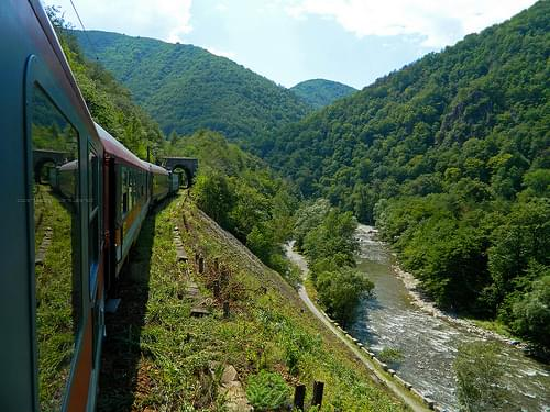 Defile of Jiu National Park, Romania
