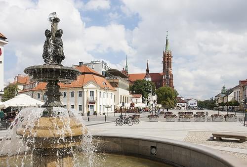 Białystok. Rynek Kościuszki