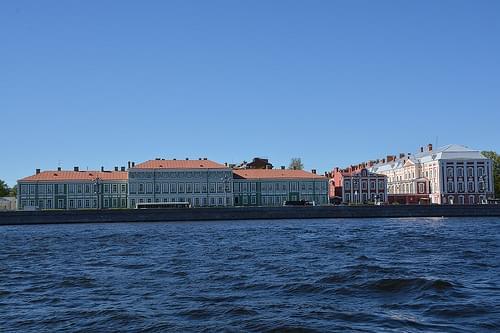 University Embankment (St Petersburg, Russia 2015)
