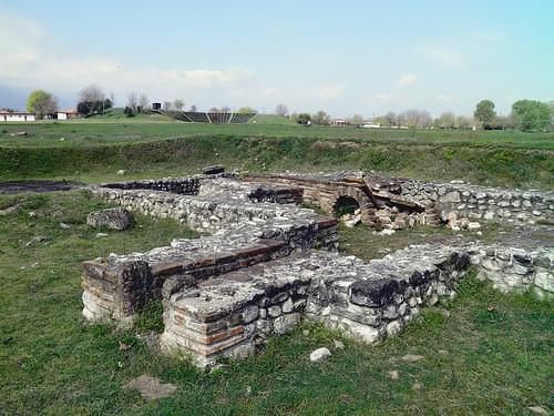 The small Roman bath complex, Ancient Dion