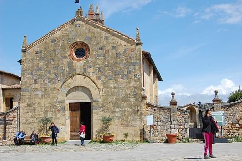 Church, Monteriggioni