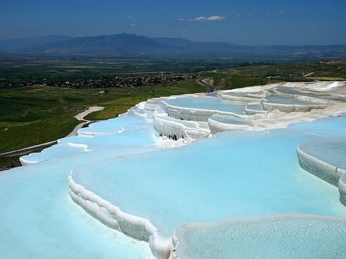 Travertine Hot Springs, Pamukkale