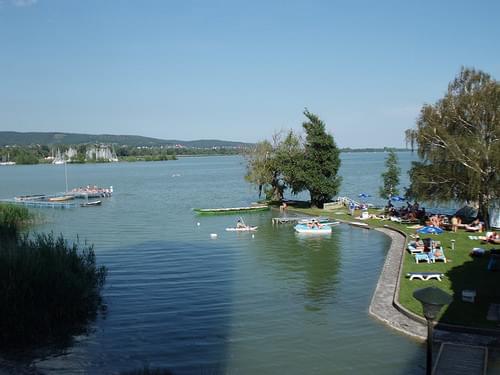 Keszthely, Hungary on Lake Balaton