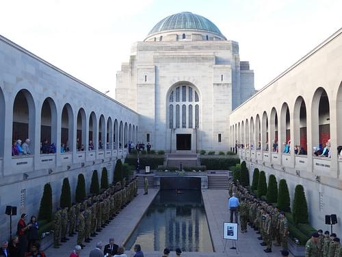 Australian War Memorial Canberra opened in 1941.