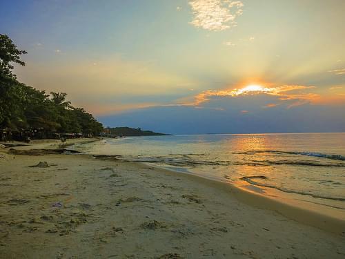 Early sunrise on Ko Samet